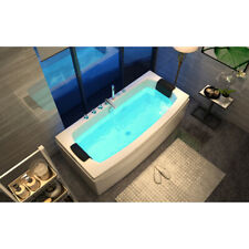 Home Deluxe Whirlpool Eckbadewanne Badewanne Wanne Pool Spa Bodyjets