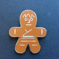 Star Wars Gingerbread Mystery Collection - Luke Skywalker ONLY Disney Pin 5187