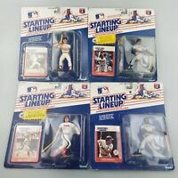 4 New 1988 Dwight Evans, Kirby Puckett, Dave Winfield Starting Lineup MLB Figure