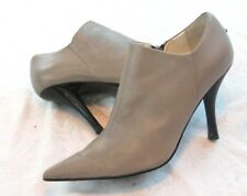 Nine West Bayard Pointed-Toe Booties Boots Grey Size 7 M