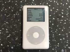 Apple iPod classic 4th gen - Photo  - 64 gb SD Card Upgrade - Brand New Battery