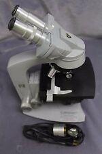AO Spencer Binocular Flatfield Microscope w/4 Objectives