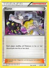 Karen-xy177 Promo-Trainer Card Near Mint English Pokemon
