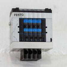 FESTO CPV10-VI 6 Valve Pneumatic Solenoid Block