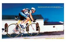 LANCE ARMSTRONG ~ WHAT AM I ON? 11x17 POSTER Bike Cycling Bicycle Tour De France