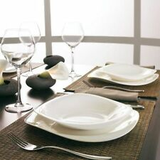 Luminarc servizio piatti per 6 persone 19 pezzi  modello Volare bianco