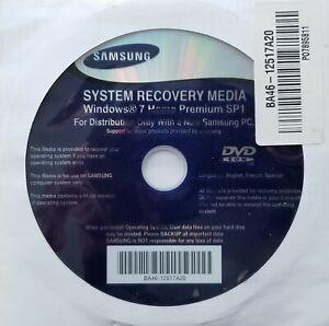 Samsung System Recovery Disc Windows 7 Home Premium Sp1 64-bit BA46-125117A20