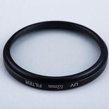 Camera Lens 52mm Haze UV Filter Lens 52mm Lens Protector For DSLR/SLR/DC/DV D 7P