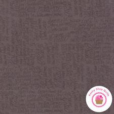 Moda JOL 39702 17 COCOA BROWN Tonal W W Hatling Northern Quilt FABRIC  Christmas