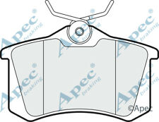 Pastillas de Freno Trasero Para Citroen C4 I Genuino APEC PAD1020