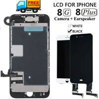 For iPhone 8 8 Plus LCD Digitizer 3D Touch Screen Full Replacement Assembly Set
