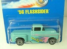 Hot Wheels '56 Flashsider Pickup 1992 Blue Card #136  Combine Shipping