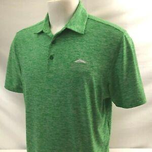 Red Rock CC Men's Golf Polo Shirt Medium Green Under Armour Loose HeatGear Poly