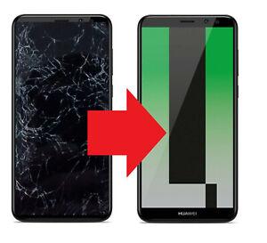 Huawei Mate 10 Lite schwarz Display Touch Rahmen Reparatur Austausch