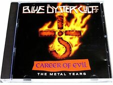 cd-album, Blue Oyster Cult - Career Of Evil, The Metal Years, 13 Tracks