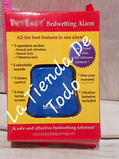 BED WETTING  BEDWETTING ALARM BLUE READ