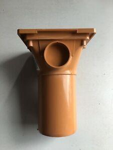Osma Underground Drain 110mm Plain Hopper 4D507