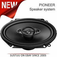 """Pioneer 4-Way Car Audio Coaxial Altavoces   Sistema de Sonido 6"""" X 8""""   350W Max Power   Nuevo"""