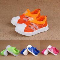 Mädchen/Junge Mesh Schuhe Sneaker Gr. 21-30 Sport Hausschuhe Halbschuhe Sandalen