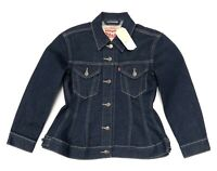 Levi's Women's Original Corset Trucker Jacket In Indigo Limited Edison Size XL