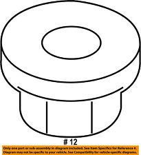 FORD OEM Rear Suspension-Track Bar Nut W707246S440