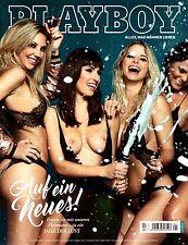 Playboy Januar/01/2017  EMILIE PAYET & MARISA PAPEN & PLAYMATES