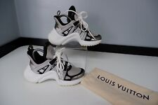 Louis Vuitton Sneakers Archlights Size 35 Uk 2 VGC Trainers Monogram Silver