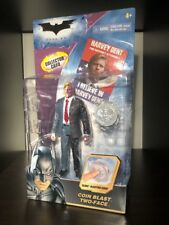 Batman The Dark Knight Coin Blast Two-Face Harvey Dent Figure Mattel