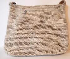 THE SAK Beige Knit  Crossbody Handbag Bag Purse