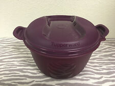 Tupperware Large Microwave Rice Cooker Plum 3qt / 3L New