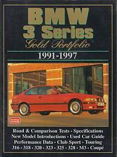 BMW 3 SERIES E36 SALOON COUPE TOURING COMPACT & CABRIO 1991-1997 ROAD TESTS BOOK