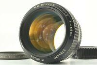 【EXC+++】 Minolta MC Rokkor PG 58mm F/1.2 MF Prime Lens From Japan #521