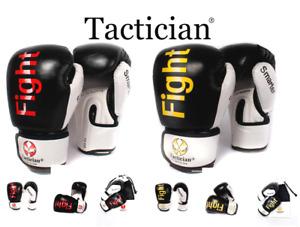 Tactician® Boxing Gloves Punching Bag Training Sparring Muay Thai Kickboxing MMA