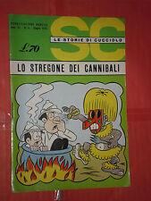 STORIE DI CUCCIOLO N°6 DEL 1970-EDIZIONI ALPE MILANO-STORIE E FIABE RARO MARTINI