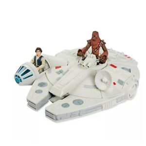 Disney Store Star Wars Toybox Millennium Falcon With Figures, Original Disney