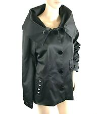 DOLCE&GABBANA Womens Blazer Black Jacket Size M/L Collared Fashion Forward $3645
