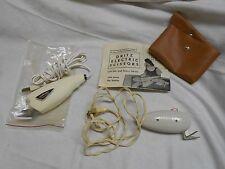 2 pairs vintage Electric sewing craft scissors Dritz & Pur Kut automatic scissor