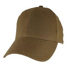 Blank Hat - Coyote Brown Baseball Cap