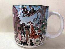 Walt Disney Classics The Jungle Book Ceramic Mug Japan Rare Collectible Animals