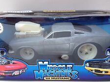 MUSCLE MACHINES RAW 66  MUSTANG LIMITED EDITION 1 OF 1000 PCS 1:18 (SCALE)  NEW