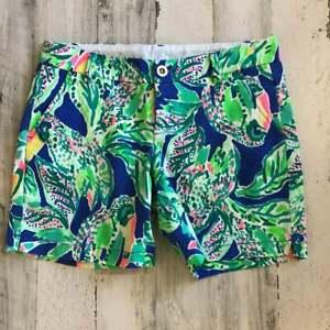 Lilly Pulitzer Jayne Stretch Shorts NWOT sz 6
