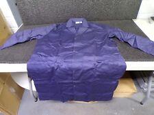 LANDAU Collared Lab Coat,L,Blue,44 In. L (K)