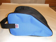 HEAVY DUTY BLUE CLIMBING SHOES   STORAGE BAG.       Made in UK