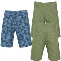 Mens Tokyo Laundry Jefferson Hawaiian Shorts Cotton Chino Combat Printed Bottoms