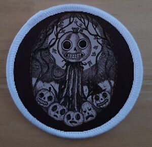 """3"""" Patient Is The Night Patch badge Over The Garden Wall Enoch Pumpkin"""