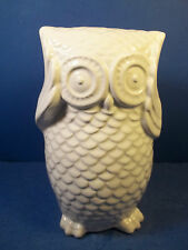 CERAMIC WHITE OWL BANK BY SICURAKIDS FOR ARGENTO - NEW!