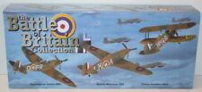 Oxford Diecast 72set01a Battle Britain set Spitfire Hurricane Gladiator W/box