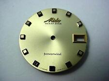 Gold Ocean Star Powerwind 29.25mm Mido Vintage Watch Dial Date Window Square Mrk