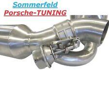 Porsche 996 Turbo Klappenauspuff 200 Zell Katalysator valved exhaust muffler PSE