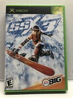 SSX 3 (Microsoft Xbox, 2003) Complete w/ Manual - Tested Working - Free Ship